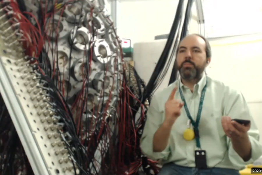 Dr. Aaron Couture, the staff scientist at the Los Alamos National Laboratory hosts a virtual visit.