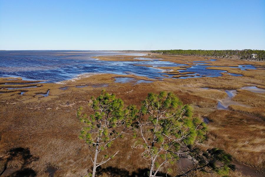 St  Joseph Bay Aerial View © Darryl Boudreau DJI 0148 2.'