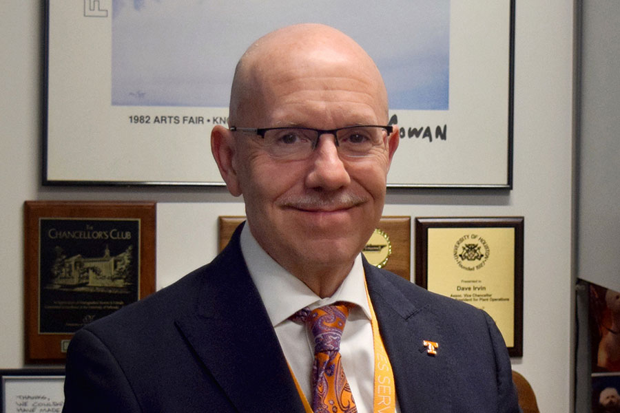 Dave Irvin, the incoming associate vice president for facilities, joins FSU after 11 years at the University of Tennessee Knoxville.