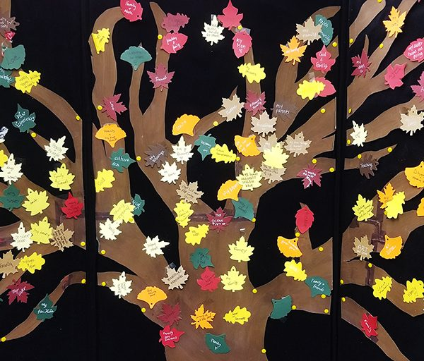 """Tree of Life"" from ""100 Reasons Why"" event held virtually via social media platforms."