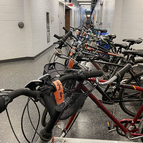 Sustainable Campus' reCycle Bike program used a new rental appointment system for its annual fall bike distribution event. (FSU Sustainable Campus)