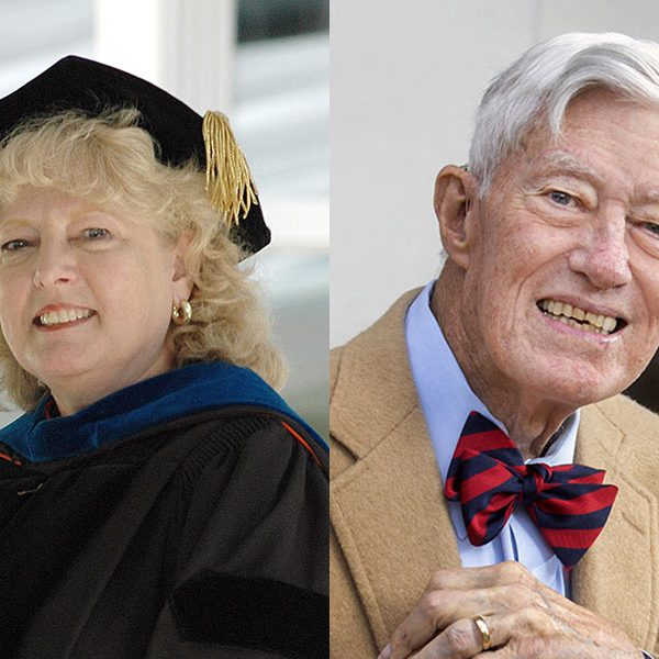 "Professor Emerita Myra Hurt and President Emeritus Talbot ""Sandy"" D'Alemberte are the first winners of the Westcott medal in more than ten years."