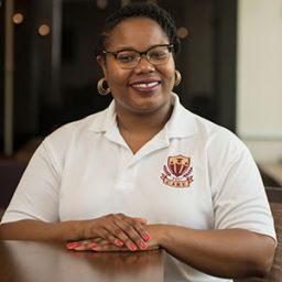 Roxanne Simpson, SSS-STEM program coordinator. (CARE)