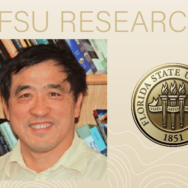 Ming Cai, a professor in the Department of Earth, Ocean and Atmospheric Science. (Florida State University)