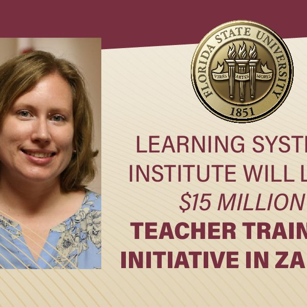 Stephanie Simmons Zuilkowski, an associate professor with the Learning Systems Institute and director of the USAID Transforming Teacher Education Program. (Florida State University)