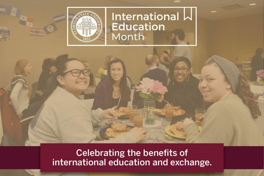 International Education Month: Celebrating the benefits of international education and exchange.