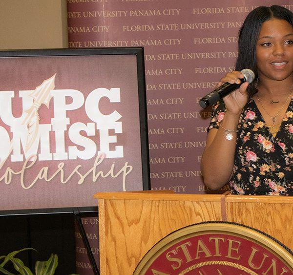 Student speaker Larissa McDonald, Social Work