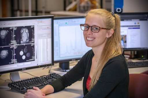 Shannon Helsper, a biomedical engineering student in the FAMU-FSU College of Engineering, has received the Ruth L. Kirschstein Predoctoral National Research Service Award from the National Institutes of Health (NIH). (FSU Photography Services/Bill Lax)