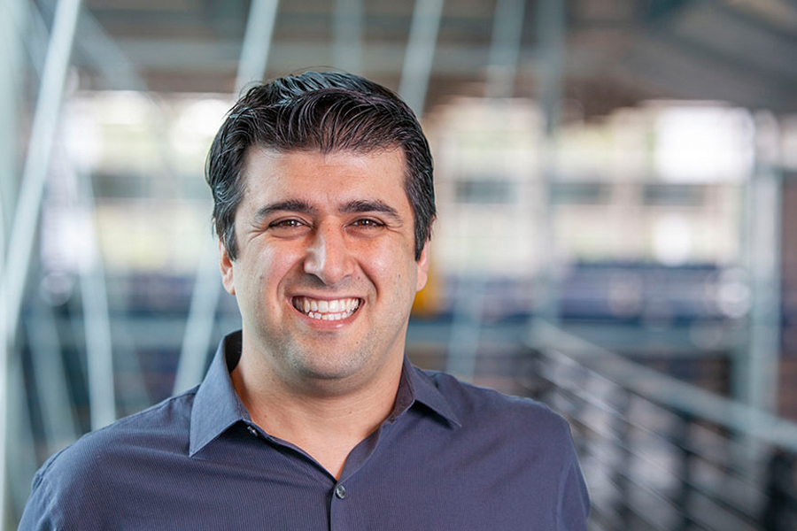 Kourosh Shoele, an assistant professor in the Department of Mechanical Engineering at the FAMU-FSU College of Engineering. (Mark Wallheiser/FAMU-FSU College of Engineering)