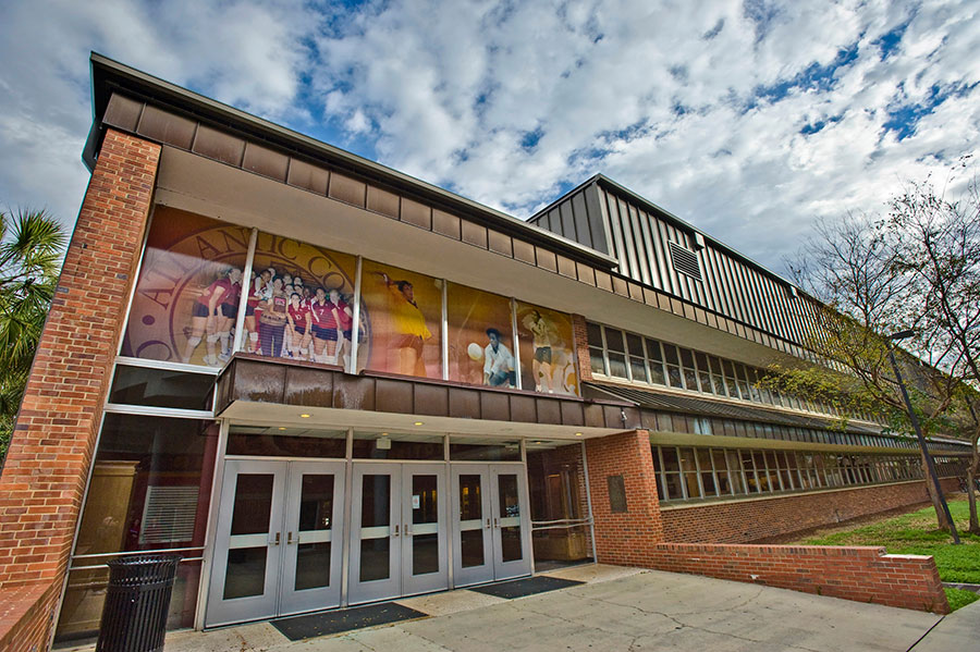 Tully Gymnasium, where the FSU College of Education's Sport Management program is housed. The program will offer a master's degree in athletic coaching starting in summer 2021. (FSU College of Education)