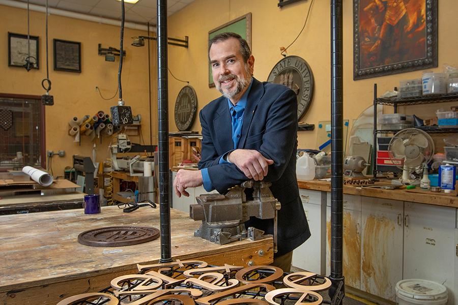 Master Craftsman Studio program director John Raulerson (FSU Photography Services)