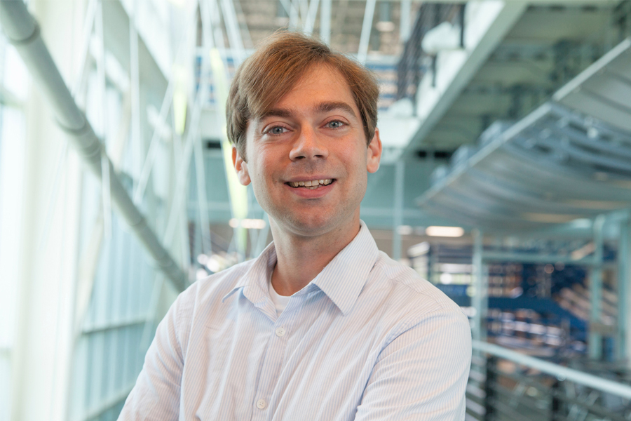 Christian Hubicki, an assistant professor of mechanical engineering at the FAMU-FSU College of Engineering. (FAMU-FSU College of Engineering/Mark Wallheiser)