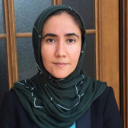 Sohaila Isaqzai, doctoral candidate in the International and Multicultural Education program.
