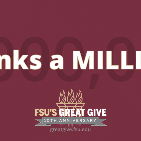 Thanks a Million - Great Give 2021