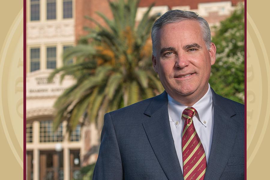 "Michael ""Mike"" Brady, FSU's Faculty Athletics Representative (Photo courtesy of Ray Stanyard)"