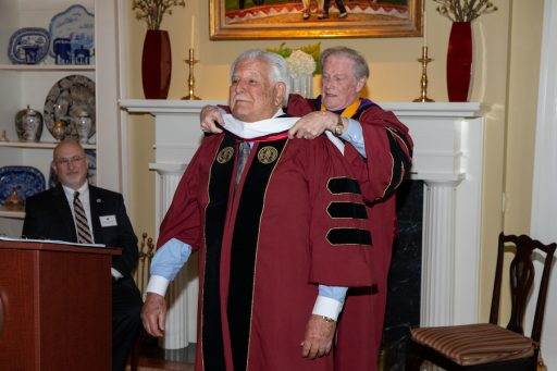 Hold's is the 132ndhonorary degree bestowed by Florida State University since its founding 170 years ago.