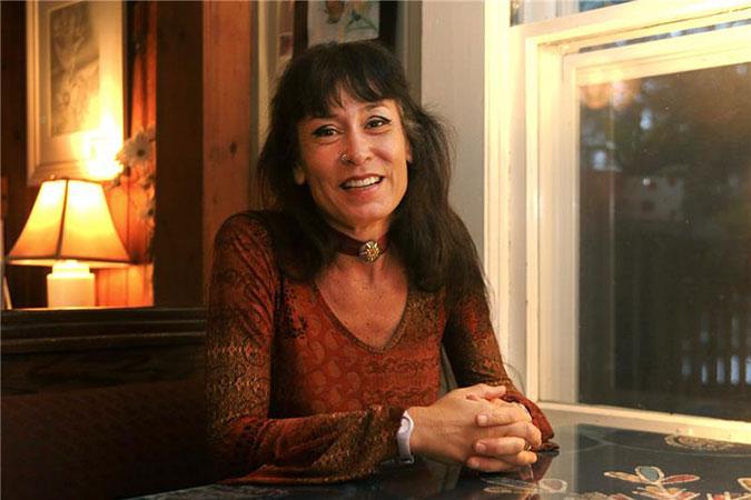 Celia R. Caputi, professor of English. (Al Hall)