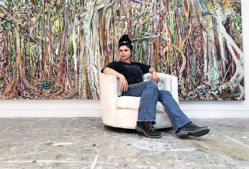 Lilian Garcia-Roig, chair and professor in the Department of Art, is one of 184 Guggenheim Fellows selected to the class of 2021.
