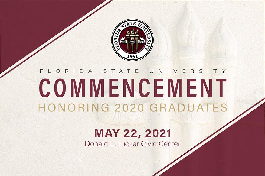 Florida State University Commencement honoring 2020 graduates