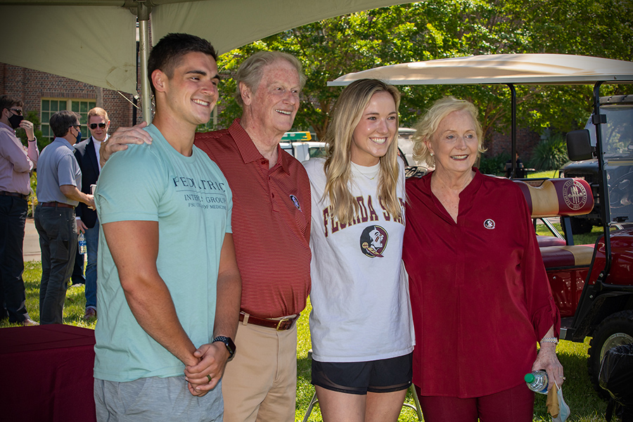 President's Ice Cream Social. (FSU Photography Services)