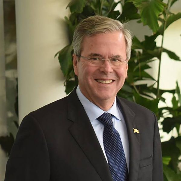An interview with former Florida Governor Jeb Bush kicks off the Institute of Politics' series.