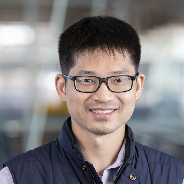 Assistant Professor in Civil and Environmental Engineering Youneng Tang at the FAMU-FSU College of Engineering in Tallahassee, Florida. (Mark Wallheiser/FAMU-FSU College of Engineering)