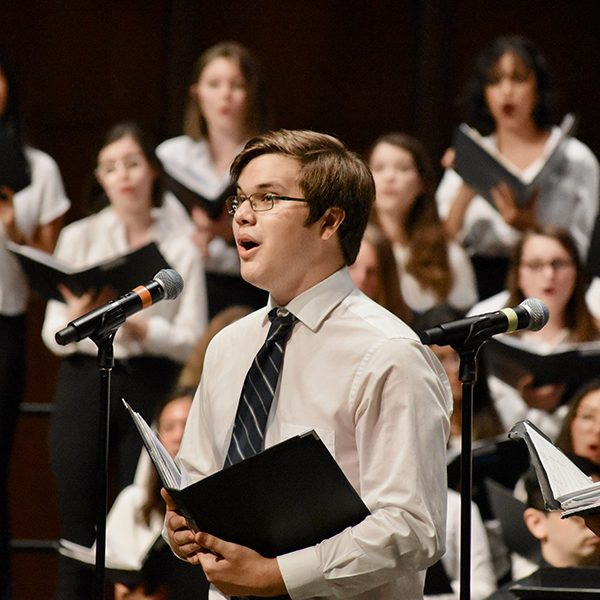 Campers perform at the 2019 Choral Ensemble Camp Final Performance