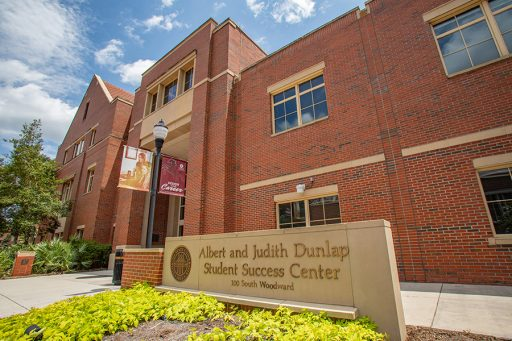 The Dunlap Student Success Center, where the Career Center is located. (FSU Photography Services)