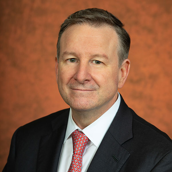 Richard McCullough, the 16th president of Florida State University.