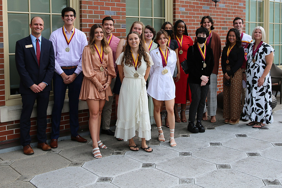 The FSU Honors Program held its first in-person medallion ceremony since Fall 2019 on Tuesday, July 27. (University Honors Program)