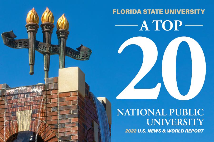 Florida State University - A Top 20 National Public University