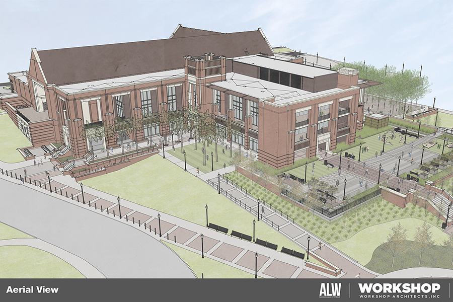 FSU'S new Student Union draws from the past while rising toward the future