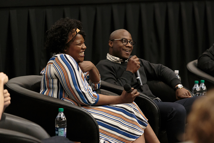 Barry Jenkins and Joi McMillon hold a forum at FSU after Moonlight win