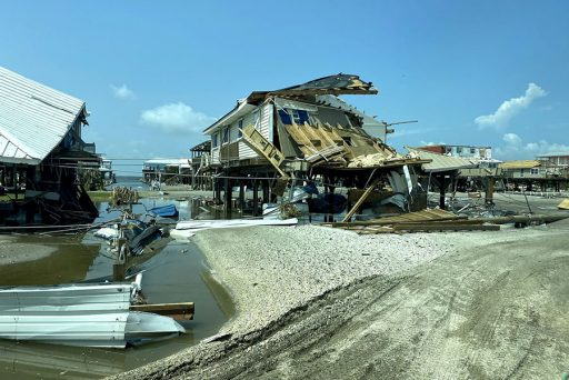 Hurricane Ida's damage was extensive on Grand Isle but most residents vacated before the storm landed there, Merrick said.