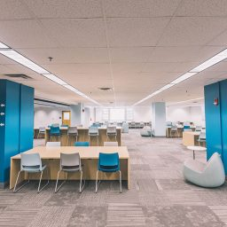 FSU Libraries recently revealed the new renovations on the second floor of Strozier Library. (FSU Libraries)