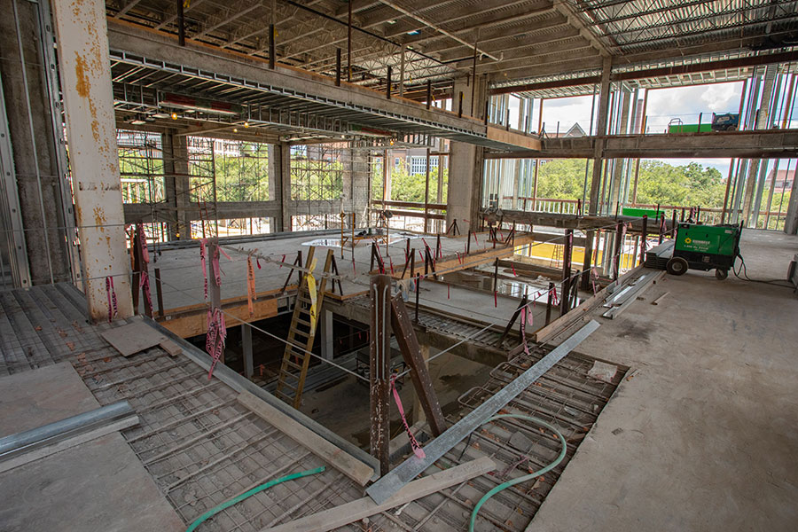 The new Student Union is expected to open its doors next spring and when it does, students will be greeted with a facility designed to surpass its predecessor in stature, utility and aesthetic.
