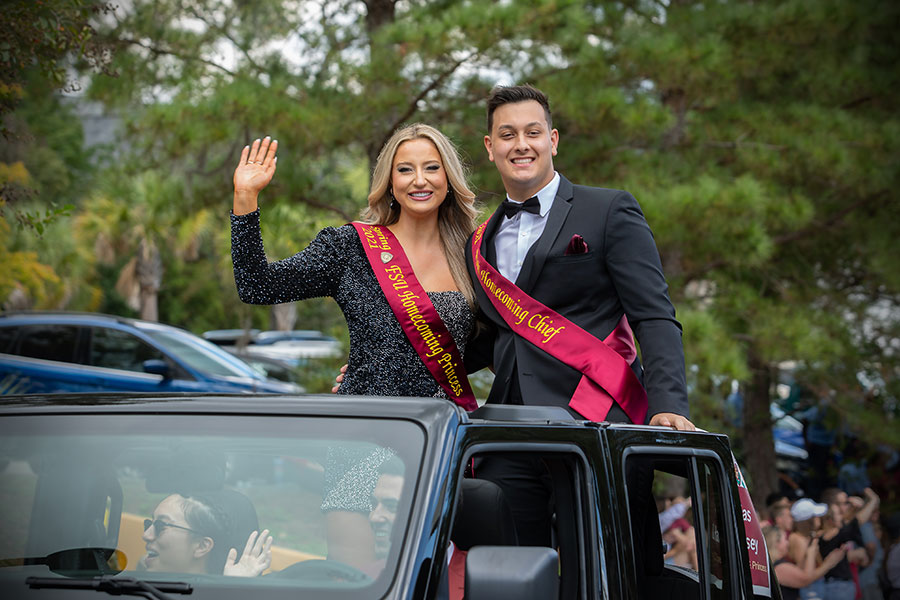 FSU Homecoming Parade, Oct. 22, 2021. (FSU Photography Services)