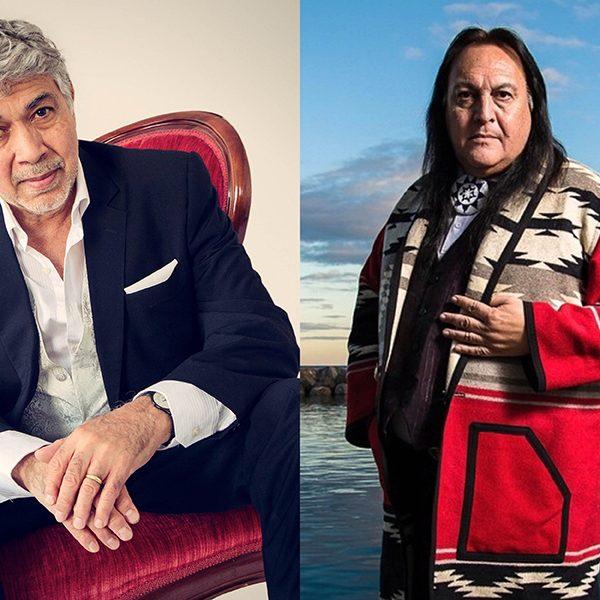 Grammy-nominated pianist Monty Alexander andGrammy-winning Native American singer-songwriter, guitarist and flutist Bill Miller