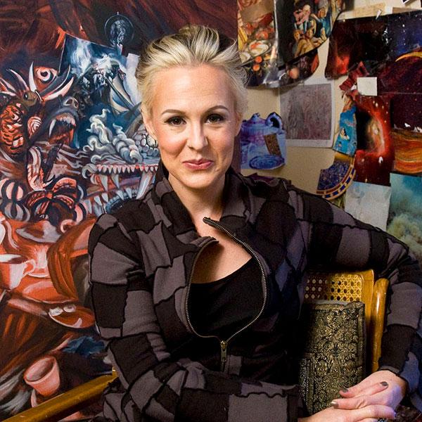 Carrie Anne Baade, FSU professor of art.